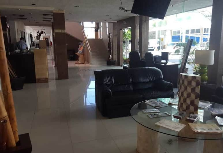 Hotel GYA Boutique, אגואס קליינטס, אזור ישיבה בלובי
