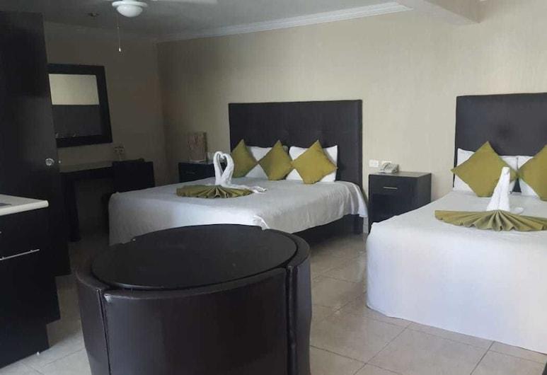 Hotel GYA Boutique, אגואס קליינטס, סוויטה, חדר שינה אחד, חדר אורחים