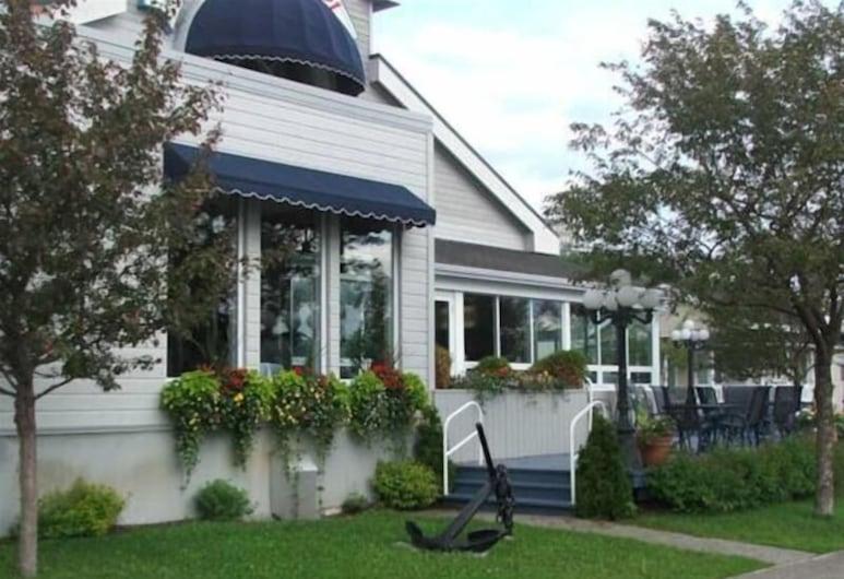 Auberge des 21, Saguenay, Udsigt fra hotellet