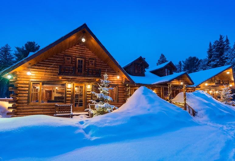 Pourvoirie du Lac Blanc, Saint-Alexis-des-Monts, Chalet familiar, 5 habitaciones, Habitación