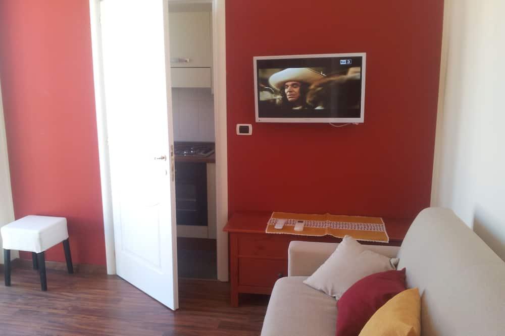 Luxury-Apartment, 2Schlafzimmer, Kochnische, Annex - Wohnzimmer