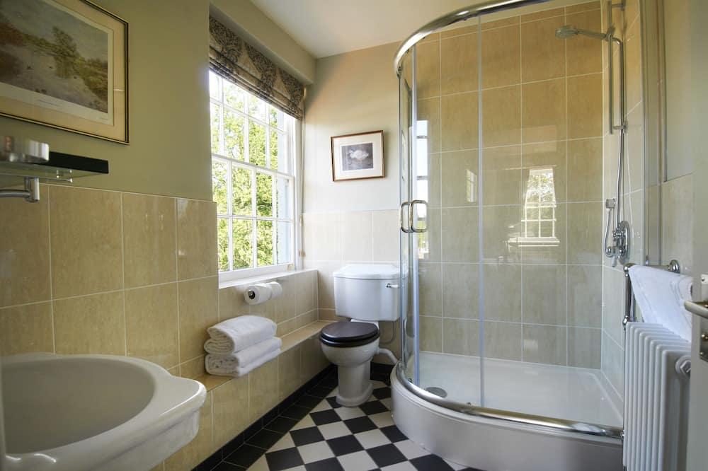 חדר אקסקלוסיבי זוגי או טווין - חדר רחצה