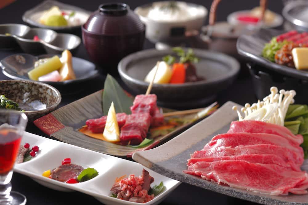 Soba, za nepušače (Steak of Hida-Beef 150g Dinner) - Blagovaonica u ryokanu