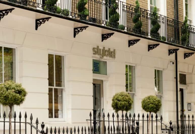 스타일로텔, 런던, 호텔 정면
