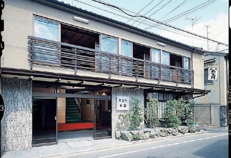 Takigawa Ryokan Honkan, Kyoto, Parte delantera del hotel