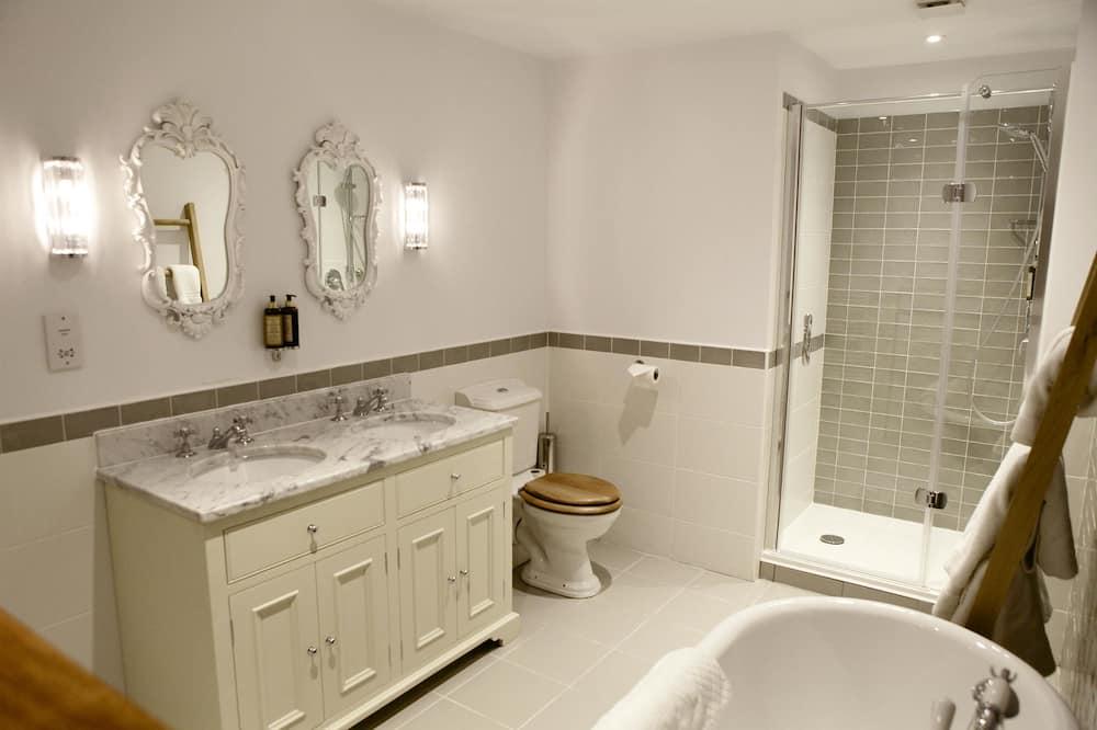 Familjerum - flera sängar - eget badrum (King Size) - Badrum