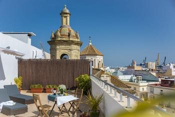 Foto van Hotel de Francia y París in Cadiz