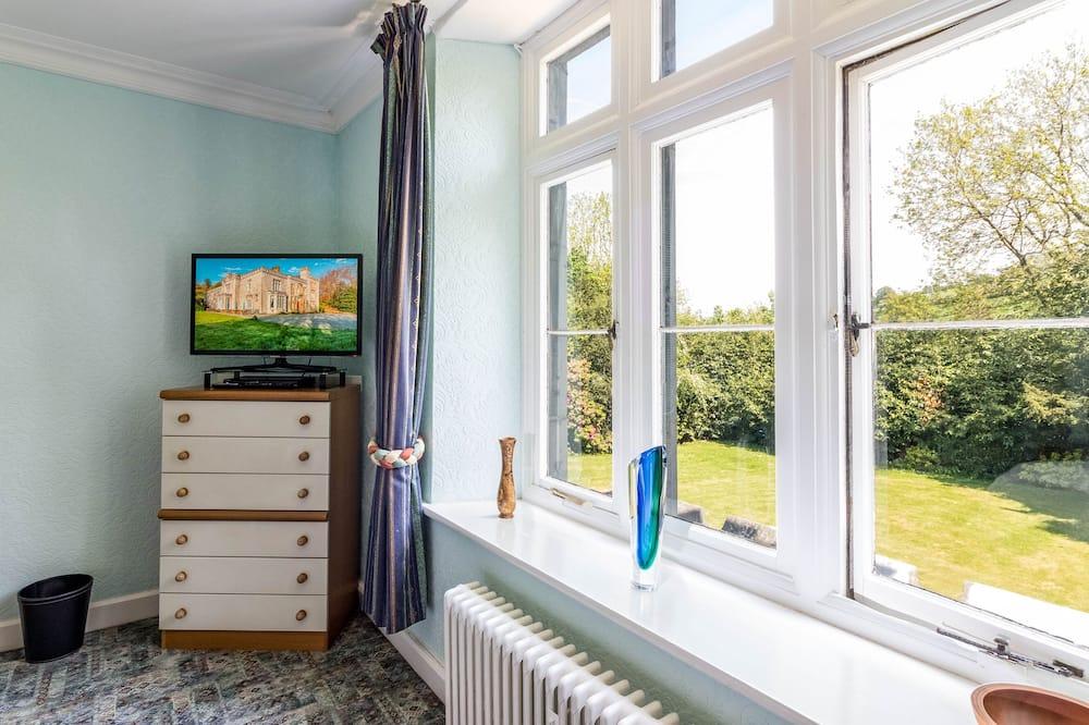 Pagerinto tipo dvivietis kambarys, vaizdas į sodą - Vaizdas į sodą