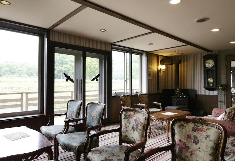 Hotel Heidi Hof, Hakuba, Lobby Sitting Area