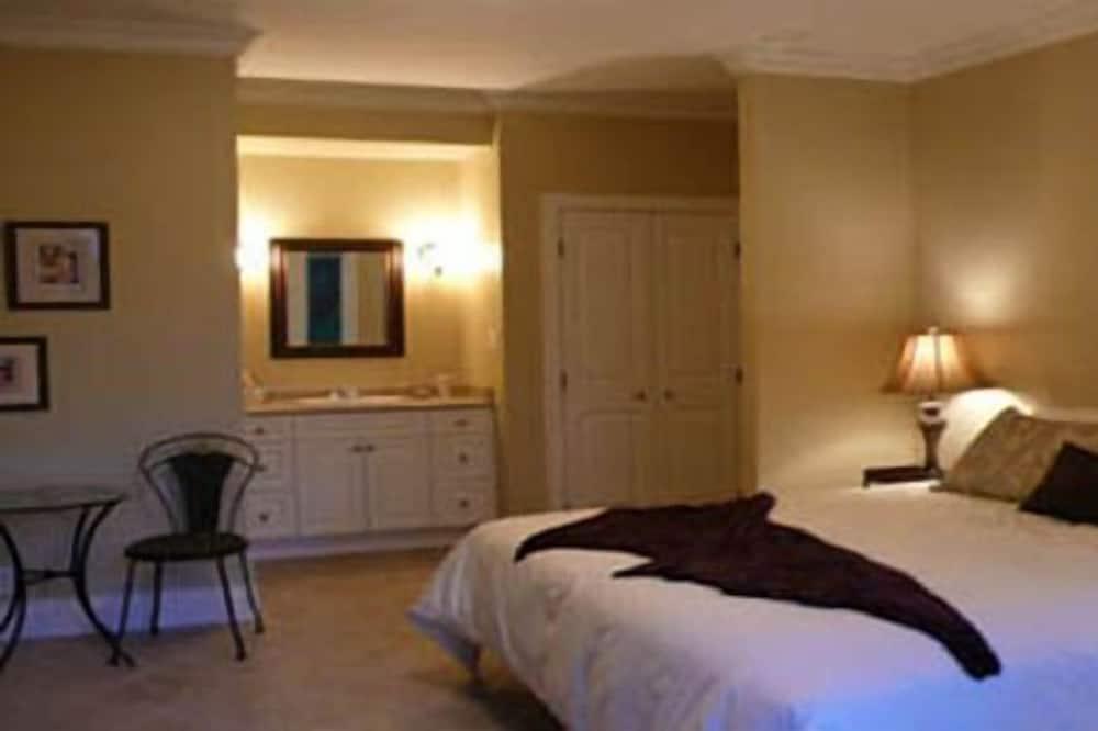 Apartmá typu Superior, dvojlůžko (200 cm), krb - Pokoj