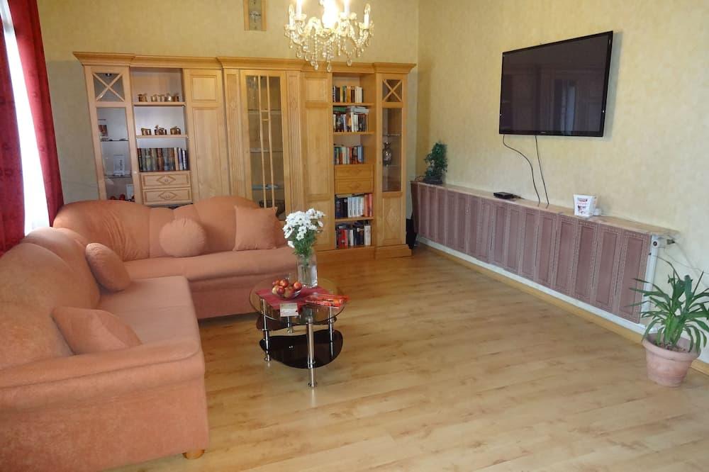 Lägenhet - bottenvåning - Vardagsrum