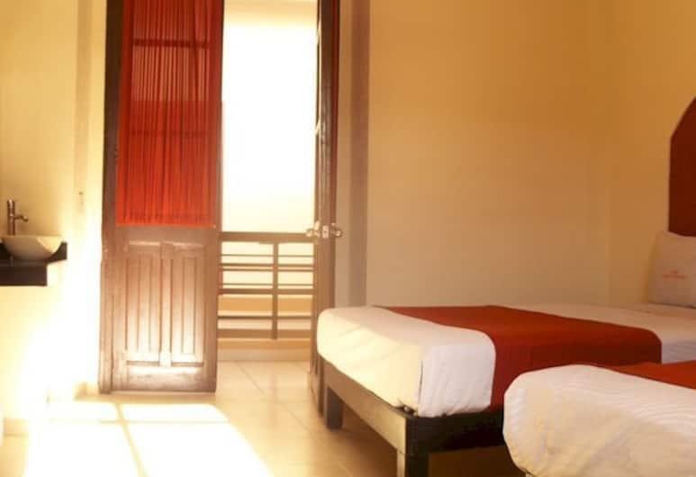 Hotel JA, Guadalajara, Standardværelse - 2 dobbeltsenge, Værelse