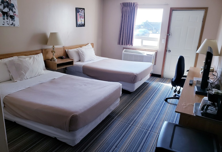 旅遊渡假飯店, 薩克屯, 標準客房, 2 張標準雙人床, 吸煙房, 客房