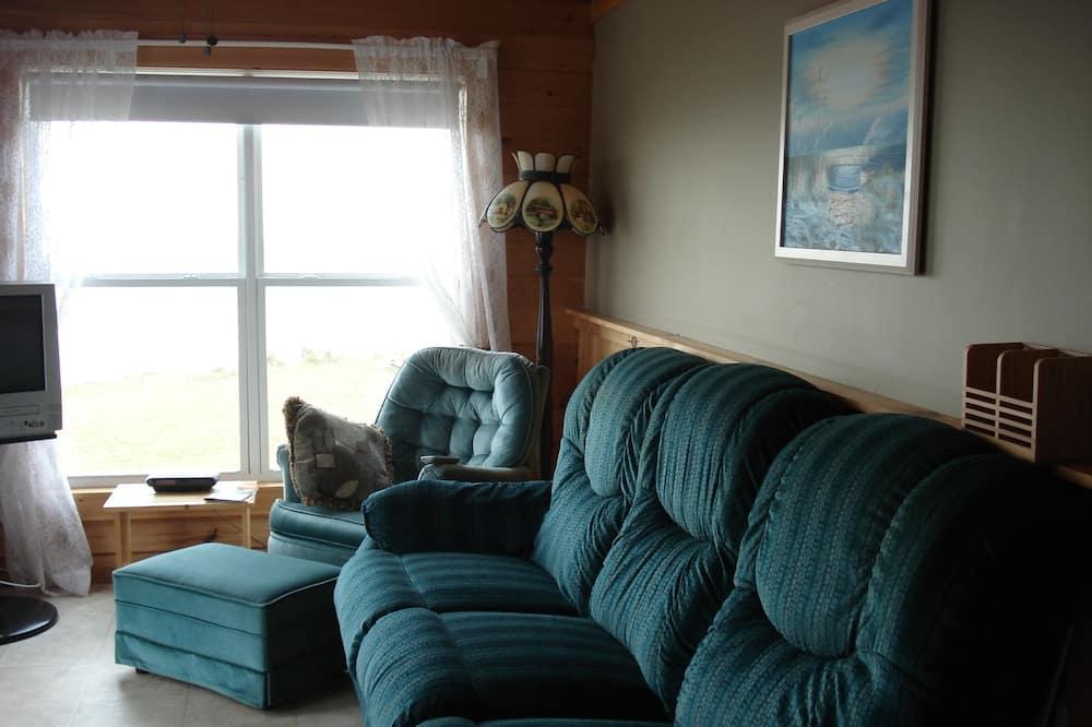 Dúplex estándar, 3 habitaciones, vista al mar, frente al mar - Sala de estar