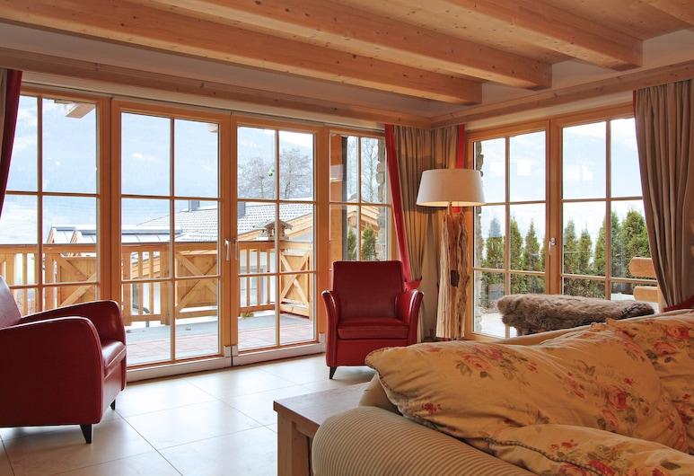 Avenida Panorama Chalet by Alpin Rentals, Piesendorf, Nhà gỗ Deluxe, 6 phòng ngủ, Hiên (Excl. 378 EUR cleaning fee), Phòng khách