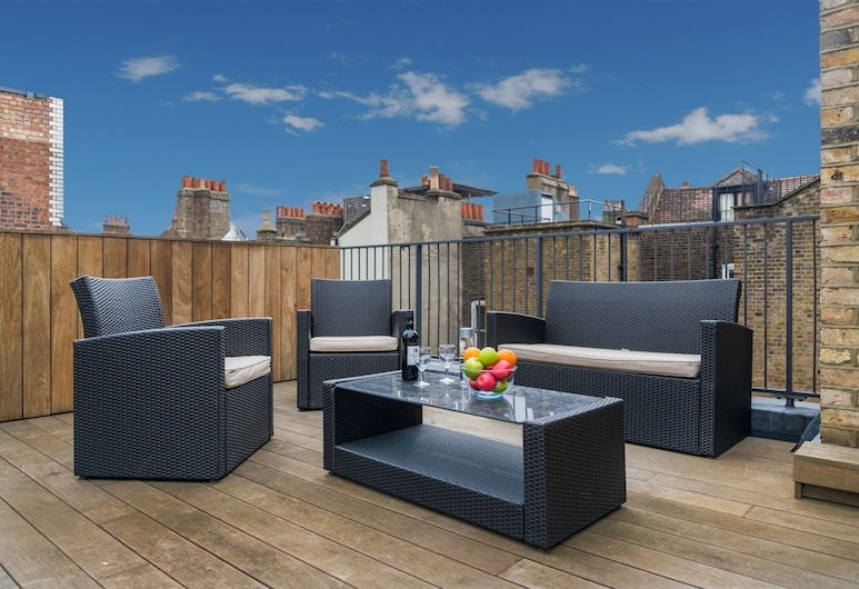 Holborn Two, London, Penthouse, 2 Schlafzimmer, Terrasse/Patio