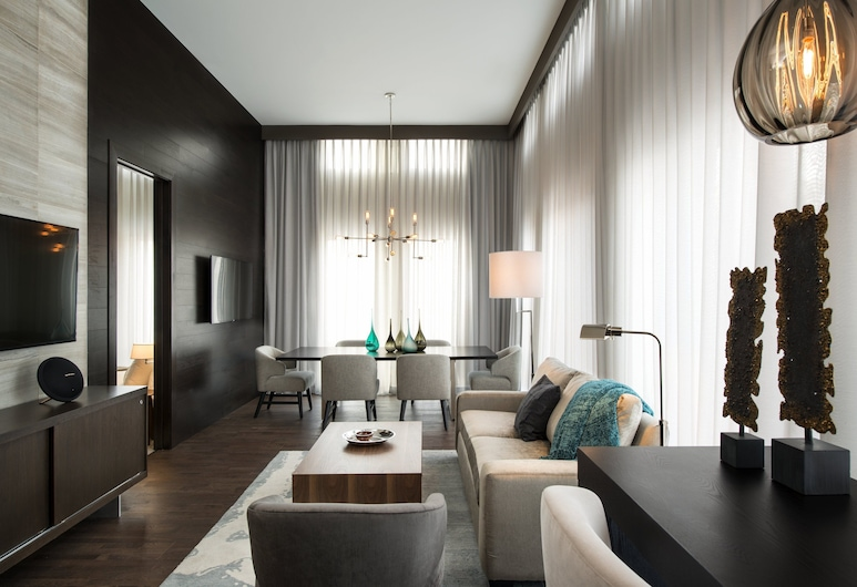 Courtyard by Marriott Calgary South, Calgary, Executive-Suite, 1 Schlafzimmer, Nichtraucher, Zimmer