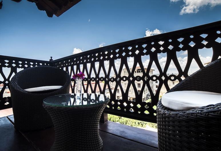 Best Western Plus Zanzibar , Zanzibar City, Deluxe kahetuba, 1 ülilai voodi, Rõdu