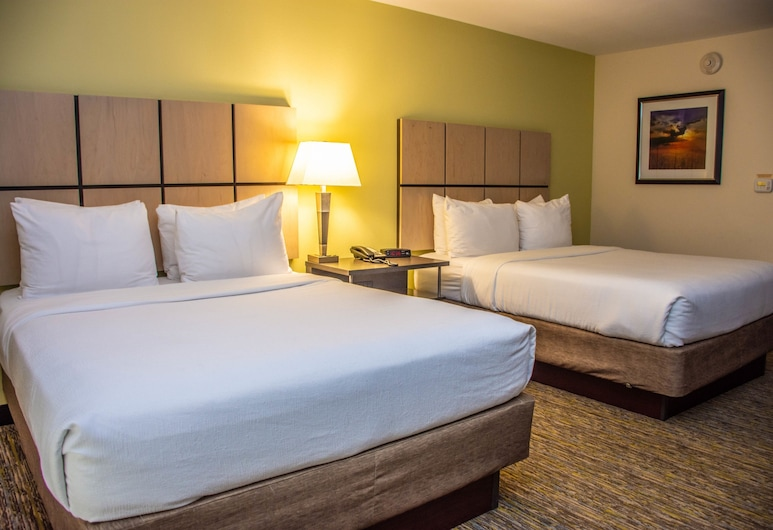 Candlewood Suites : Overland Park - W 135th St, Overland Park, Studiosvit - 2 queensize-sängar - tillgänglighetsanpassat - icke-rökare (HEARING), Gästrum