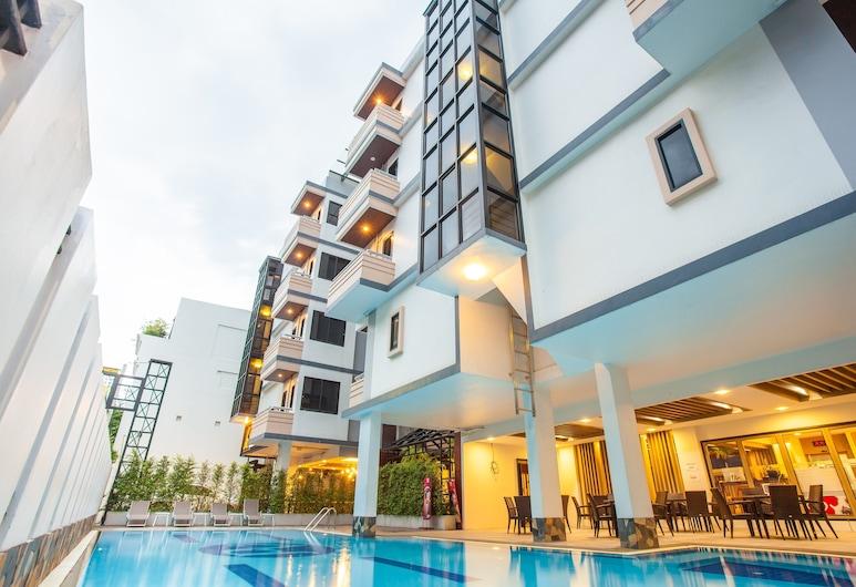 New Siam Palace Ville, Μπανγκόκ, Εξωτερική πισίνα