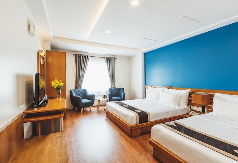 Saigon Sparkle Hotel, Ho Chi Minh City, Executive dubbelrum, Utsikt från gästrum