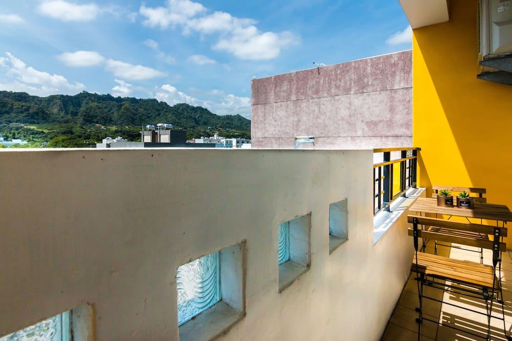 Chambre Double Standard, balcon - Vue depuis le balcon
