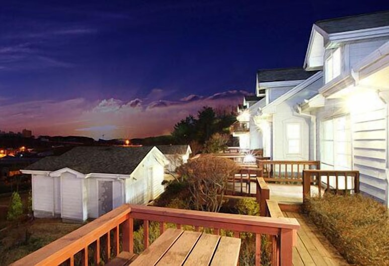 彩虹城堡渡假村, 泰安, 陽台