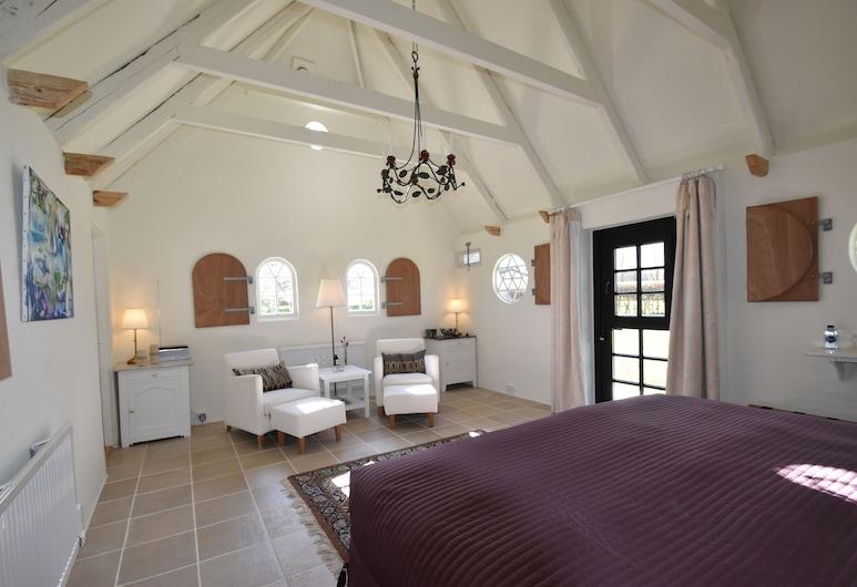 乳牛場之家民宿, 蓋瑟, 蜜月平房, 1 張特大雙人床, 無障礙, 熱水浴缸, 客房