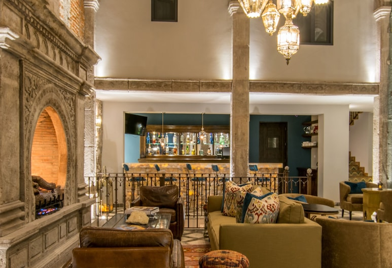 Casa 1810 Hotel Boutique, San Miguel de Allende, Lobby Sitting Area