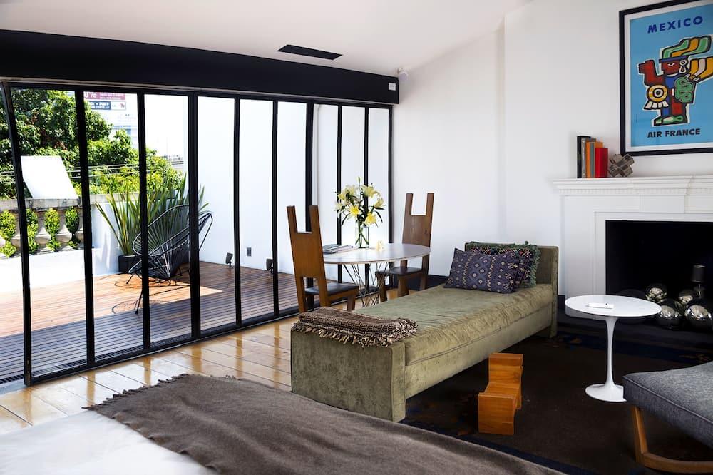 La Terraza Suite - Woonruimte