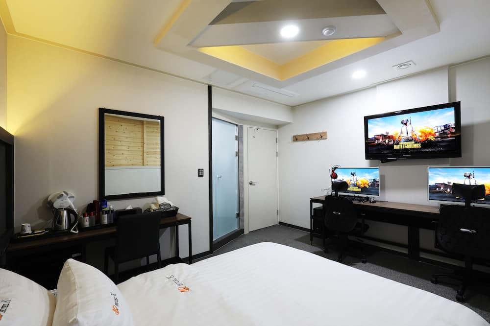 豪華客房, 1 張標準雙人床, 城市景觀 - 浴室