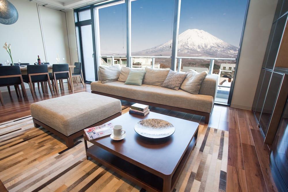 Ático, 3 habitaciones - Zona de estar