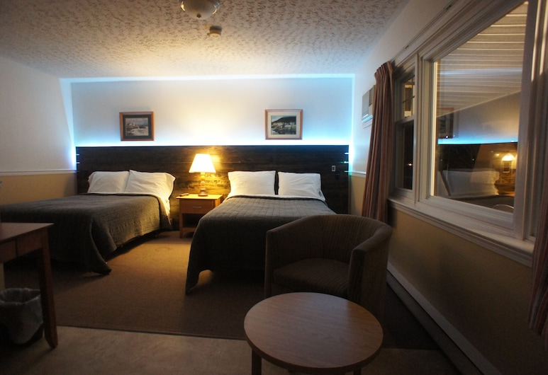 銀林套房酒店, 腓特烈頓, 雙人房, 2 張標準雙人床, 非吸煙房, 客房