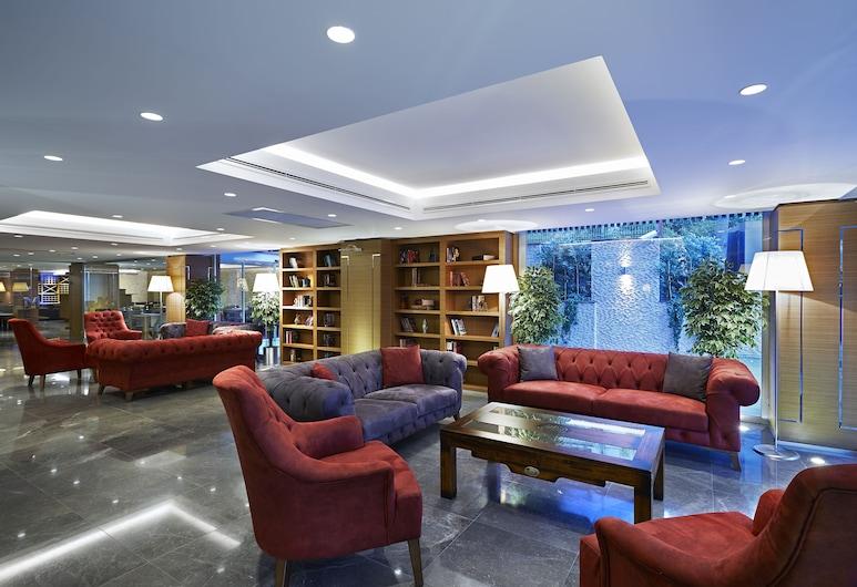 Milport Hotel Levent, Istanbul, Salottino della hall