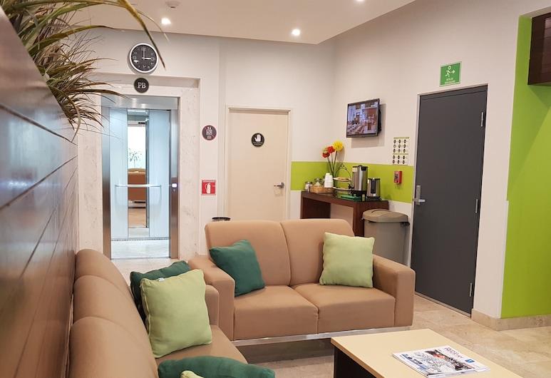 SR Hotel, Zapopan, Khu phòng khách tại tiền sảnh