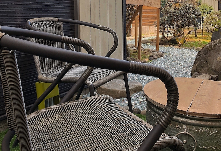 Stay Nikko Guesthouse – Hostel, Nikas, Vila su pagrindiniais patogumais, Terasa / vidinis kiemas