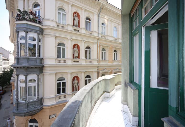 Amber Terrace Studio, Budapeszt, Small Studio, Balkon