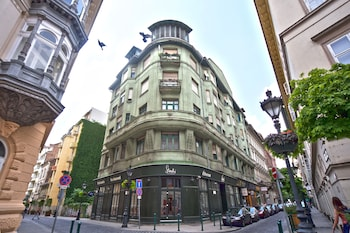 Obrázek hotelu Amber Terrace Studio ve městě Budapešť