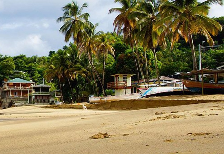 The Naturalist Beach Resort, Castara, Praia