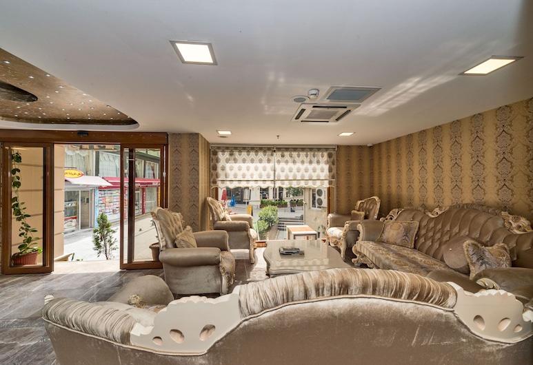 Grand Pamir Hotel, Istanbul, Puhkeala fuajees
