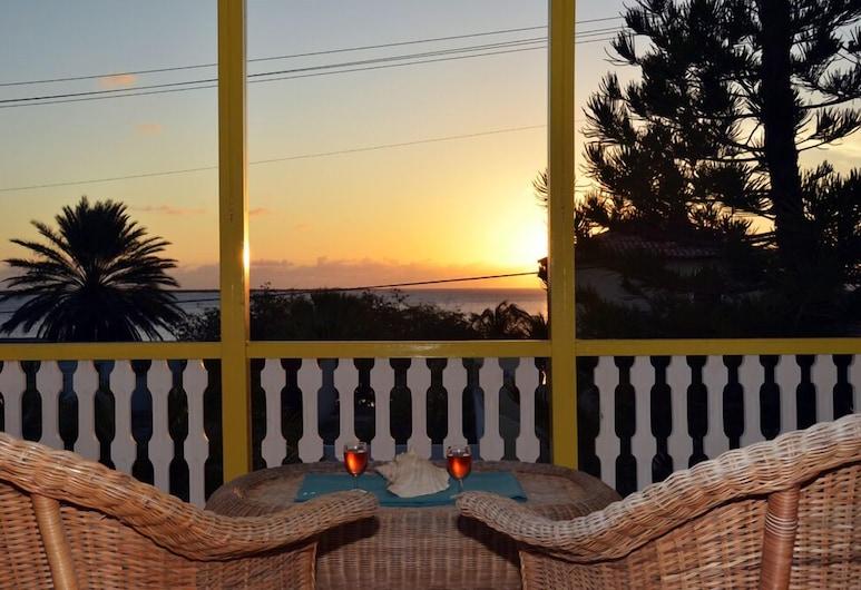 Divers Paradise Bonaire, Kralendijk, อพาร์ทเมนท์, 1 ห้องนอน, วิวทะเล, ระเบียง