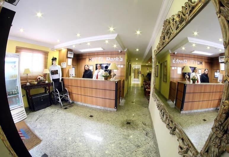 Hotel Park's Pedro de Toledo New, San Paulas, Registratūra