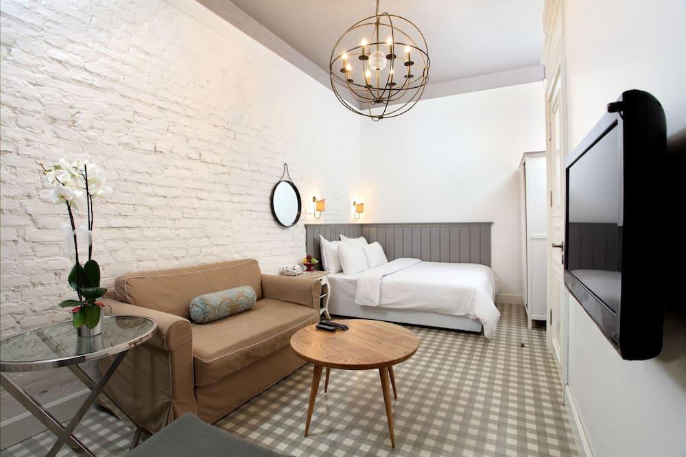 Suite Royal, 1 cama doble con sofá cama - Zona de estar