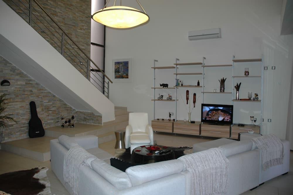 奢華客房 - 客廳