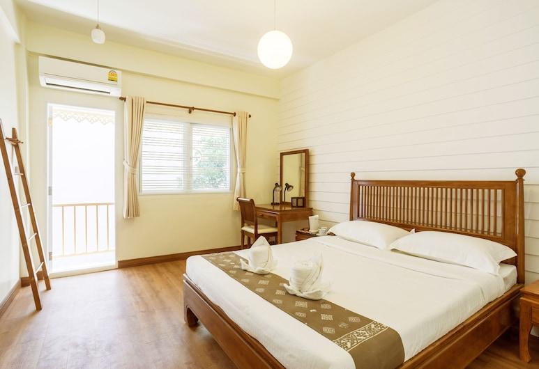 ティニ カティ ホステル - シーロム バード ハウス, バンコク, スーペリア ルーム 共用バスルーム, 部屋