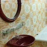 Double Room (Double Room with Fan) - Bathroom