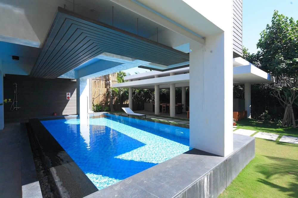 Medusmēneša villa, privāts baseins - Viesu numurs