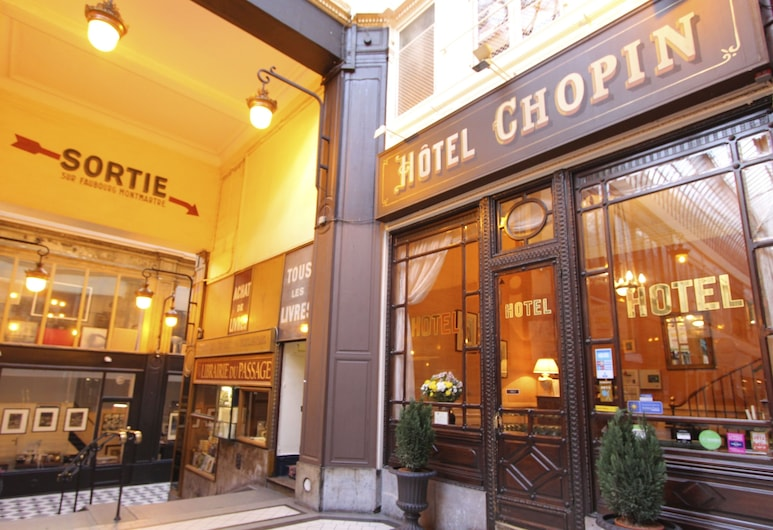 肖邦酒店, 巴黎, 酒店正面