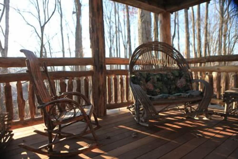 Cabaña, 1 habitación, bañera de hidromasaje - Terraza o patio