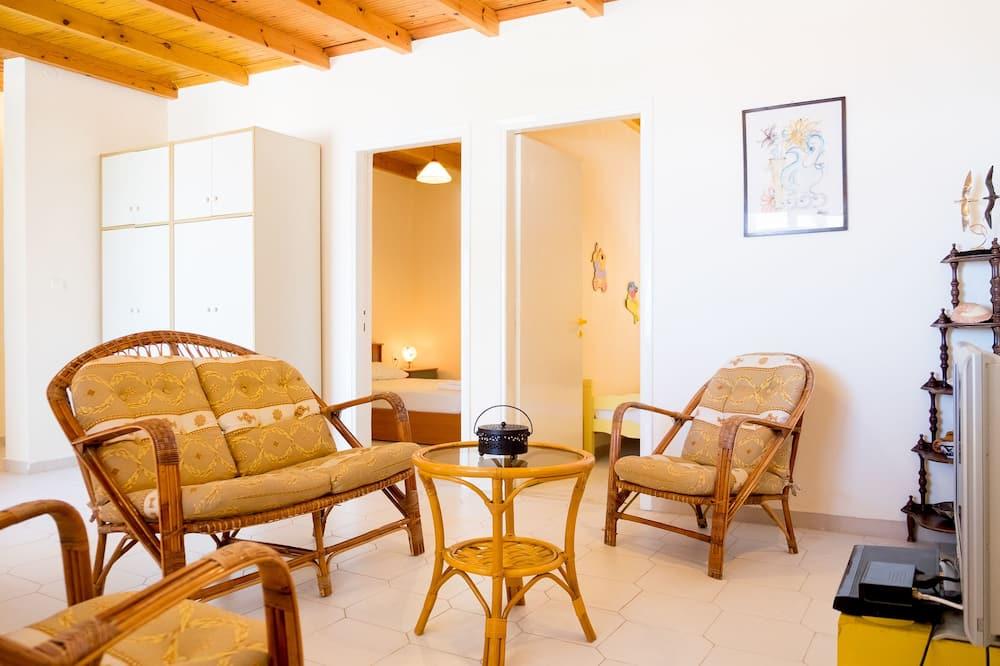 スーペリア アパートメント 3 ベッドルーム - リビング エリア